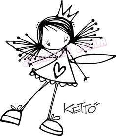 Lulu Ketto Stamping Bella Unmounted Rubber Stamp Craft | eBay
