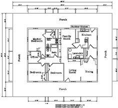 Augusta 2 floor plan #steel #dreamhome