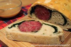 Cotechino in crosta di pane con spinacini e salsa di mele secondo per le feste goloso