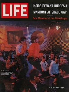 "Discotheque - Life Magazine, May 27, 1966 issue - Visit http://www.oldlifemagazines.com/may-27-1966-life-magazine.html to purchase this issue of Life Magazine. Enter ""pinterest"" for a 12% discount at checkout - Discotheque"