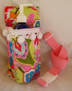 Massage therapy lotion bottle holster