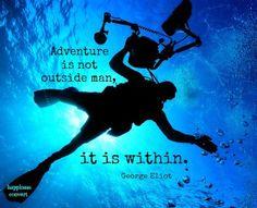 Adventure quote via www.Facebook.com/HappinessConvert