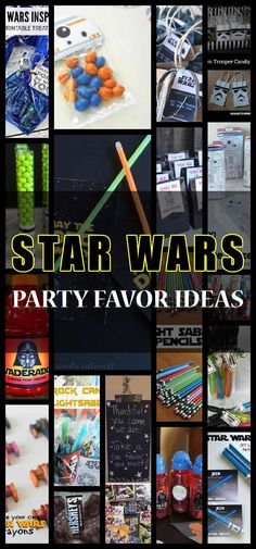 Star Wars Party Favor Ideas - Baby Star Wars - Ideas of Baby Star Wars - Looking for unique star wars party favor ideas. Here is a list of cute and simple ideas for your kids star wars celebration Star Wars Birthday Party Favors, Kids Birthday Themes, Birthday Bash, Birthday Star, Birthday Recipes, Birthday Nails, Birthday Parties, Happy Birthday, Lego Star Wars