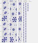 winter crochet rope pattern