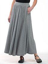 Women's Infinity Knit Maxi Skirt   Sahalie.com