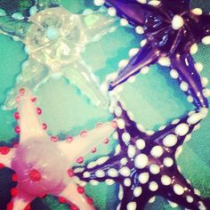 Guess where our research is from? #ecru #starfish #glass #color #design #instagram