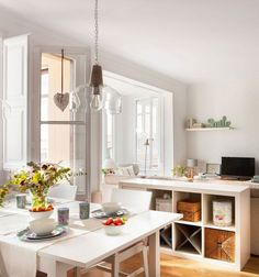 konyha nappali hálószoba otthontúra Európa ebédlő amerikai konyha Spanyolország skandináv gyermekszoba