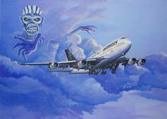The Ed Force One painting by Ferencne Ferenc Vincze