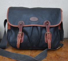 3241f42f843d Authentic MULBERRY scotchgrain branston LEATHER TRIM trout shoulder bag  satchel Trout
