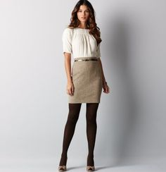 LOFT dress.  I love.  I have giftcard.  I not buy, b/c it is soooo flippin' short, and I am so flippin' tall.  So hopefully I copy.... in my sparetime that I have lots of.