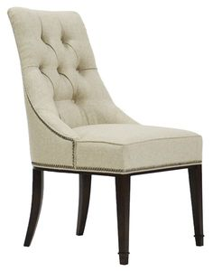 Vanguard Furniture - Our Products - W780S Brinley Tufted Side Chair