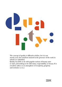Paul Rand, of course. IBM