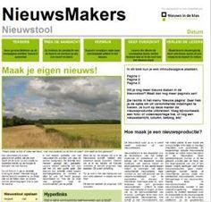 Nieuwstool: maak je eigen krant School, Spelling, Food, Essen, Meals, Yemek, Games, Eten