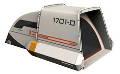 Star Trek tent by Dave Delisle