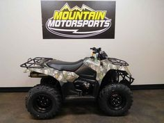 New 2017 Suzuki KingQuad 400ASi Camo ATVs For Sale in Tennessee. 2017 Suzuki KingQuad 400ASi Camo, For special internet pricing, contact Hayden at 423.839.3370 or 2017 Suzuki KingQuad 400ASi Camo In 1983, Suzuki introduced the world's first 4-wheel ATV. Today, Suzuki ATVs are everywhere. From the most remote areas to the most everyday tasks, you'll find the KingQuad powering a rider onward. Across the board, our KingQuad lineup is a dominating group of ATVs Whether you re working hard or…