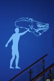 Farbberatung, Naturfarben und kreative Mal- und Spachteltechniken wie auf diesem Wandbild vom Malerbetrieb Graf GmbH in Dreieich (63303) | Maler.org