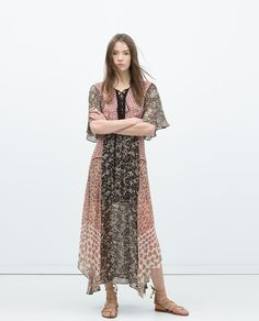 ZARA - NEW THIS WEEK - PRINTED DRESS