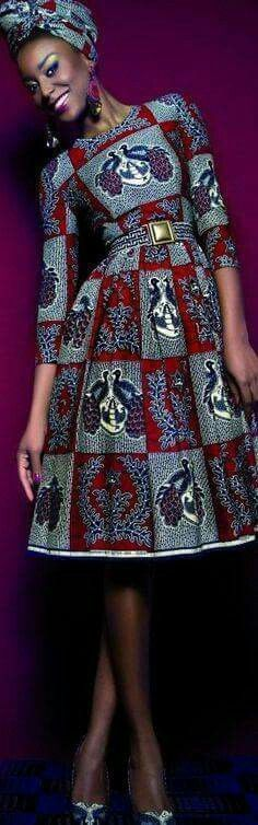 latest African dress and African fashion Ankara African Fashion Ankara, Ghanaian Fashion, African Inspired Fashion, African Print Fashion, Africa Fashion, Fashion Prints, Ethnic Fashion, African Dresses For Women, African Print Dresses