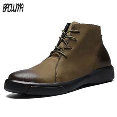 2f2d15d0d92c Купить товар Натуральная кожа Мужские ботинки осень зима с теплые меховые  зимние ботинки мужская обувь кожаная