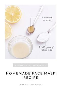 DIY FACE MASK. Homemade face mask. Natural ingredients, organic face mask.
