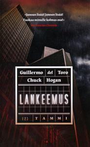 €6 Lankeemus (Pokkari)  Guillermo del Toro, Chuck Hogan Dots, Cards Against Humanity, Stitches