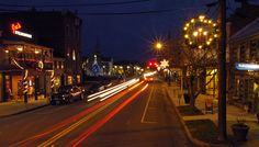 Virginia's Beautiful Holiday Main Streets - Main Street, Woodstock