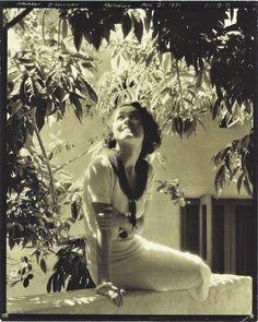 Edward Steichen: Maureen O'Sullivan.