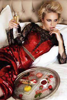 Evening dress by Oksana Mukha #eveningdress #oksanamukha #besteveningdress #luxurydress