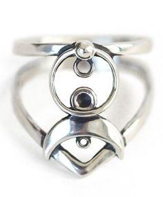 Cosmos Silver Ring