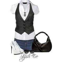 Vest outfit