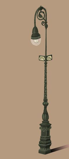 Sharackula: Gramercy Park Inspired Street Lamp (copyright Matthew Sharack)