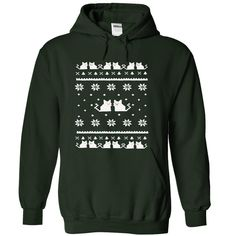 Cat ugly Christmas Awesome Shirt - Heres the purrrrfect ugly Christmas Shirtr for all you cat lovers! This (Funny Tshirts)