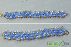 Add more beads to enrich the bracelet
