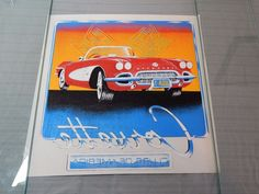 Vintage Teletrends Corvette Clubs of America Heat Transfer T-Shirt Decal NOS