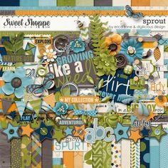 Sprout by Erica Zane & Digilicious Designs at SSD