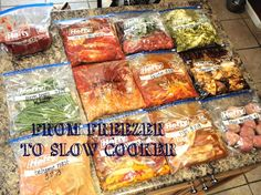 @Andrea / FICTILIS S i'm pinning these to remember for later. they all sound DELICIOUS! [Iron] Bowled Over: From Freezer to Slow Cooker