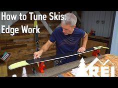 Ski Maintenance: Time For A Tune Up • Columbia Blog