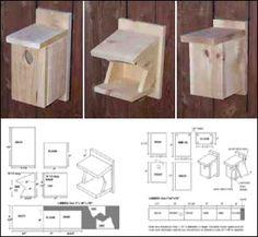 1000 Ideas About Bird House Plans On Pinterest