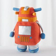 Plush-Bot (Orange)