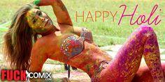 Fuckcomix.com Wishes You All a Sexy Holi #HOLI #SexyHoli #happyholi #holi2017 #happyholi2017 #HotHoli