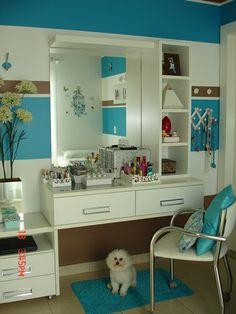 Cantinho da Vovó Jenny: O quarto azul da Raquelzinha