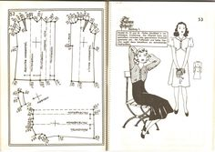 Lutterloh 1939 Book Of Cards -  Models Diagram Card Page 52 & 53