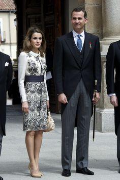 Princess Letizia - Spanish Royals Attend 'Miguel de Cervantes' Awards 2011