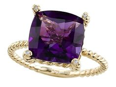 Genuine Amethyst Ring by Effy Collection® in 14 kt Yellow Gold Size 7 Finejewelers,http://www.amazon.com/dp/B000Y1ND0E/ref=cm_sw_r_pi_dp_FCIdtb1T63CA7ZST