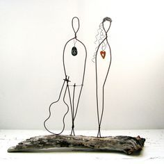 How To Make Wire Sculptures Of People