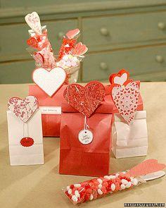 Corazones para regalos pequeños