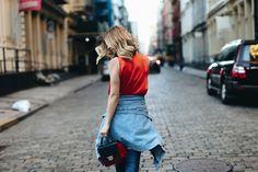 NYC STATEMENT LOOK - TAKE AIM LA Lifestyle & Fashion Blog by Michelle Madsen