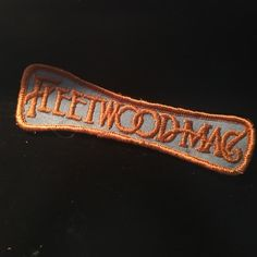 Fleetwood Mac patch Fleetwood Mac band patch. #vintage Other