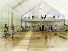 Competition Proposal for the Architecture Service Expo 2015 / Ternulomello   Nuno Marcos
