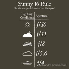 Aperture cheat sheet- Simple Delights: Photography Tips {for beginners}